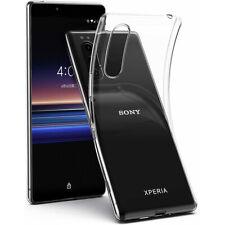 For Sony Xperia 1 5 8 10 Plus XZ3 XA2 Ultra Slim Clear Soft TPU Phone Case Cover