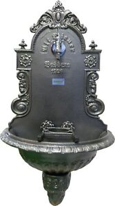 "957687003   Wandbrunnen ""WIENER BASSENA"" antik grau"