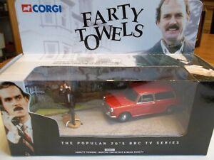 Corgi 00802 Fawlty Towers Austin 1300 + Basil Figure - FARTY TOWELS - VERY RARE