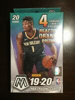 2019-20 Panini Mosaic NBA Basketball Factory Sealed Hanger Box