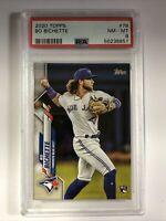2020 Topps Bo Bichette Rookie Card RC #78 Graded PSA 8 Toronto Blue Jays MLB