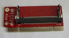 PCI to Mini PCI Card Adapter - PC MiniPCI Converter Laptop to Desktop NEW