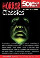 Horror Classics 50 Movie Pack Collection DVD