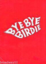 "Chita Rivera ""BYE BYE BIRDIE"" Peter Marshall / Marty Wilde 1961 London Playbill"