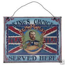 Union Jack rois choix Métal Mur signe / plaque-grand choix dans notre boutique