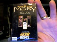 Ivory- Relax & Party- new/sealed cassette single