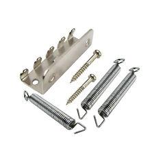 Set of Single Tremolo Claw & Screws & Springs Chrome Color for FD Strat Guitar