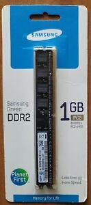 Samsung PC2-6400 1 GB DIMM 800 MHz DDR2 SDRAM Memory (2V2V1G4US)