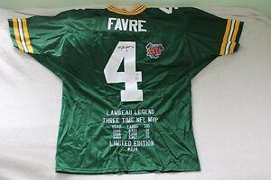 Brett Favre Green Bay Packers Autographed Jersey Football Super Bowl XXXI 31