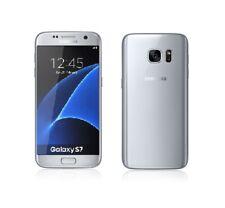 Samsung Galaxy S7 in Silber Handy Dummy Attrappe - Requisit, Deko, Ausstellung