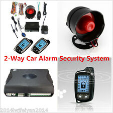 Autos Super Long Distance Controlers Anti-theft 2 Way Car Alarm Security System