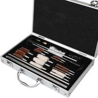 Universal Gun Cleaning Kit Pro Rifle Pistol Shotgun Firearm Cleaner Set W/ Case