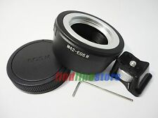 M42 Lens to Canon EOS M EF-M Mirrorless Camera tripod mount adapter + CAP