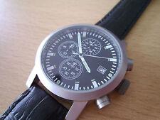 Beobachtungsuhr mit Chronograph - Fliegeruhr - Militäruhr