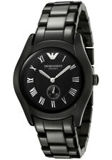 Brand New Emporio Armani Ladies Ceramica Black Watch AR1402