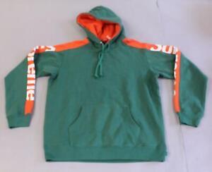 Supreme Men's SS18 Hoodie Sideline Hooded Sweatshirt HD3 Green Medium NWT