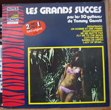 TOMMY GARRETT LES GRANDS SUCCES SEXY COVER DOUBLE FRENCH LP SUPER SUNSET