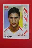 PANINI FIFA WORLD CUP GERMANY 2006 06 N. 584 TUNISIE JAZIRI  MINT!!!