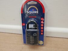 SQUIRE CP50 OPEN SHACKLE COMBINATION PADLOCK RATED 7