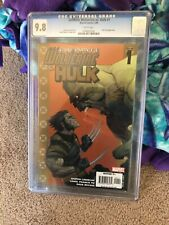 Ultimate Hulk vs Wolverine 1 CGC 9.8 White Pages. Excellent Condition.