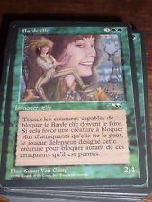 MTG Magic the Gathering BARDE ELFE Alliances French new RARE