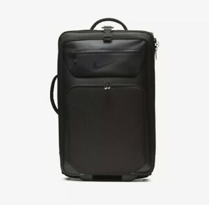 Nike Departure Roller Expandable Black Travel Bag MSRP $240
