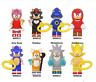 New Collection 8 pcs Minifigures Game Sonic Shadow The HEDGEHOG Lego MOC 2020