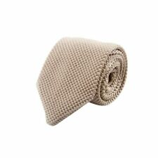 Men's Fashion Tie Knit Knitted Tie Slim Skinny Necktie Narrow Ties Woven Pointed