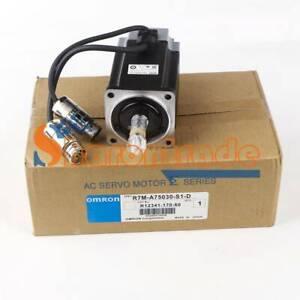 1PCS New OMRON Servo motor R7M-A75030-S1-D