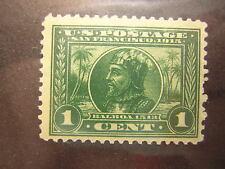 U.S.Stamps Scott #397 Unused 1 cent Vasco Nunez de Balboa TAKE 50% OFF