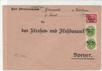 Germany 1920s  Officials Stamps Cover ref 22960