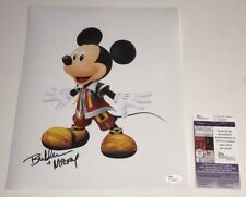 BRET IWAN Mickey Mouse Signed 11x14 Photo Autograph KINGDOM HEARTS JSA COA