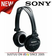 SONY MDR-V150 DJ Headphones for iPod/iPhone/iPad/MP3 Android & Smartphones BLACK