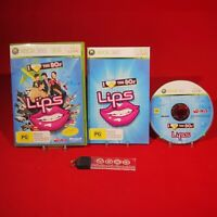 Lips: I Love the 80s - Microsoft Xbox 360 PAL Game *BellaRoseCollectables*