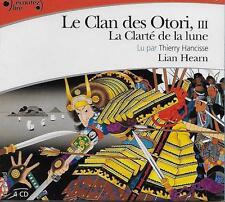 LIVRE AUDIO / LE CLAN DES OTORI VOL. 3 : LA CLARTE DE LA LUNE - LAN HEARN - NEUF
