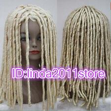 African Dreadlocks Wig Long Curls Rolls TV Drama Hair Cosplay Costume Party wigs