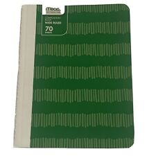 mead composition notebooks wide rule green 70 sheets new