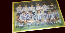 SOCCER WORLD CUP 1978 ARGENTINA CHAMPION MAG/ POSTER  size 19.68 x  15.7  inch