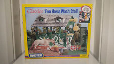Breyer Classics Two Horse Wash Stall NEU und OVP