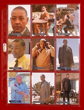"BREAKING BAD - ""LOS POLLOS HERMANOS"" CHASE SET of 9 CARDS - Cryptozoic"
