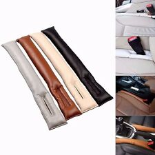 1set leather Seat Gap Filler Slot Plug Leakproof Protective Stop For Lexus