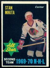 1970 71 OPC O PEE CHEE #240 STAN MIKITA EX+ CHICAGO BLACK HAWKS ALL STAR HOCKEY