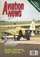 AVIATION NEWS V21 N5 DH.95_FJ-3M USN VF_BOSCOMBE DOWN_NATO SAR_RAF No.56 PHANTOM
