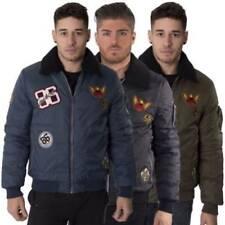 Jacken aus Nylon mit Reißverschluss