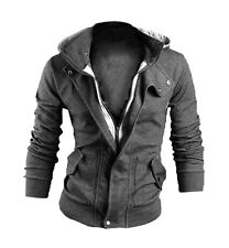 Fashion Men Warm Hooded Winter Thicken Coat Sweatshirt Outwear Jacket Overcoat