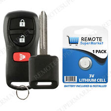 Replacement for Nissan 2003-07 Murano 2005-13 Pathfinder Remote Car Key Fob Set