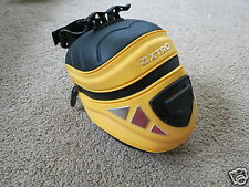 GREAT Zixtro black and yellow track bike bag