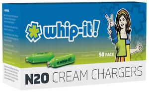 100 Whip Cream Chargers FREE SHIP EUROPEAN MADE. ORIGINAL BRAND