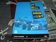 1997 SILVERSTONE PROGRAMME - F1 BRITISH GRAND PRIX - FORMULA 1