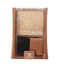 3x Maybelline Expert Wear Bronzer - 10 Sun Light (NEW)